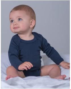 Organiczne body z długim rękawem, BabyBugz