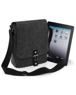 Torba Vintage Canvas iPad™/Tablet Reporter, Quadra
