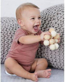 Body niemowlęce z krótkimi rękawkami Triblend, Bella