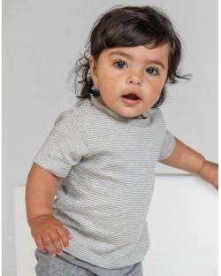 Niemowlęca koszulka w paski T, BabyBugz