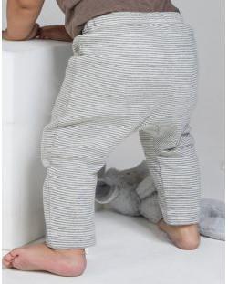 Legginsy w paski dla niemowląt, BabyBugz