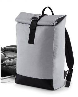 Odblaskowy plecak Roll-Top, Bag Base