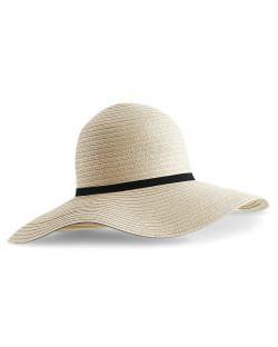 Słoneczny kapelusz Marbella Wide-Brimmed, Beechfield
