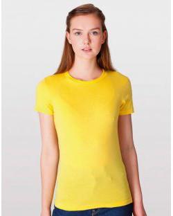 Damski T-Shirt Fine Jersey, American Apparel