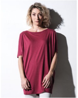 T-shirt z bawełny organicznej, nakedshirt