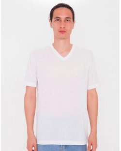T-Shirt Unisex V-Neck do sublimacji, American Apparel