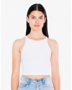 Damski Crop Top, American Apparel