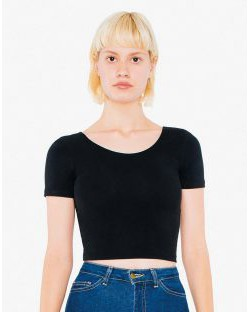 Damska koszulka Crop Top, American Apparel