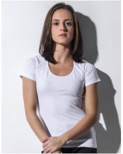Damska koszulka stretch Organic Brenda, nakedshirt