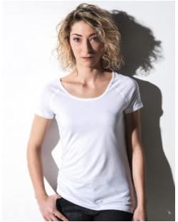 Damska koszulka Emily z dodatkiem wiskozy, nakedshirt