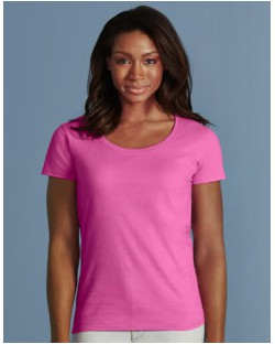 Damski t-shirt Softstyle® Deep Scoop, Gildan