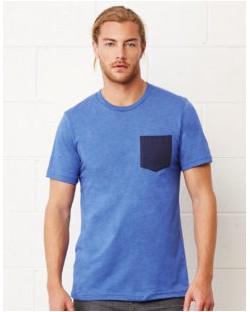 Męski t-shirt z kieszonką Jersey, Bella