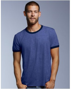 Koszulka Fashion Ringer Tee, Anvil
