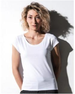 Damska koszulka Cap Sleeve Helen, nakedshirt