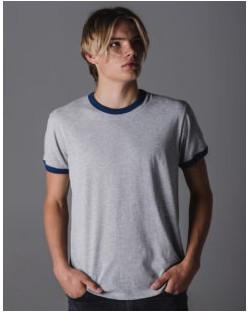 Męski t-shirt Superstar Retro Ringer, Mantis