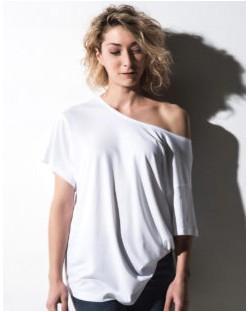 Damska koszulka Kate z dodatkiem wiskozy, nakedshirt