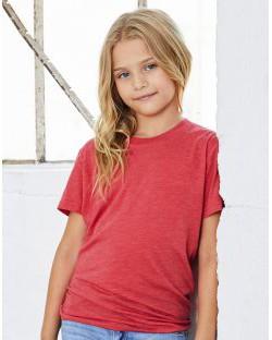 Koszulka z krótkim rękawem Youth Triblend Jersey, Bella