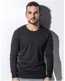 T-shirt Organic Jim z długim rękawem, nakedshirt