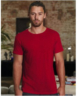 Inspire Slub/men T-Shirt, B & C