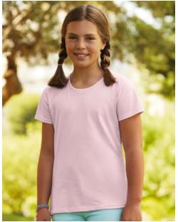 Dziewczęcy t-shirt Sofspun® T, Fruit of the Loom