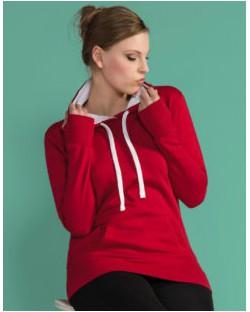 Damska bluza z kapturem Contrast Hoodie, SG