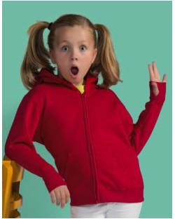 Dziecięca bluza na zamek Heavyweight, SG