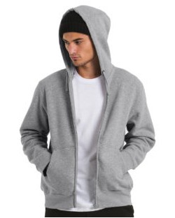 Bluza Hooded Full Zip/men, B & C