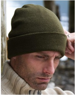 Lekka czapka Thinsulate, Result