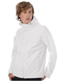 Męski Softshell Hooded Softshell/men, B & C
