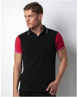Koszulka polo Contrast, Kustom Kit