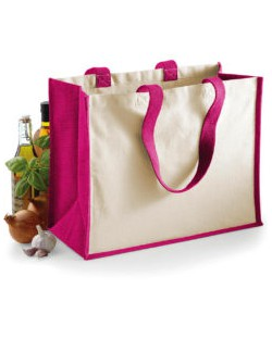 Klasyczna torba na zakupy z juty Printer, Westford Mill