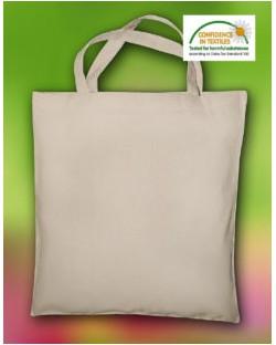 Torba Linden z bawełny organicznej krótkie uchwyty, Bags by JASSZ