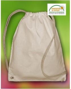 Plecak ze sznurkiem Pine z bawełny organicznej, Bags by JASSZ
