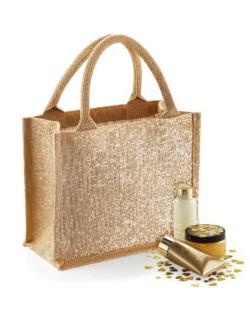Mini torba z juty Shimmer, Westford Mill