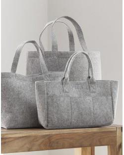 Duża zakupowa torba z filcu, Bags by JASSZ