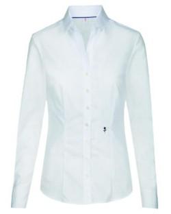 Bluzka z długimi rękawami Slim Fit, Seidensticker