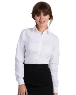 Bluzka Black Tie Elastane z długimi rękawami, B & C
