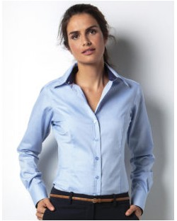 Bluzka Contrast Premium Oxford LS, Kustom Kit