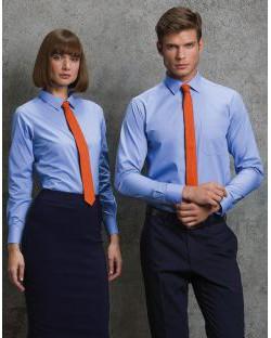 Koszula z długimi rękawami Poplin, Kustom Kit