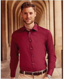 Dopasowana koszula z długimi rękawami, Russell Europe