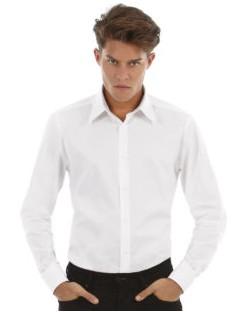 Koszula z długimi rękawami London Stretch Shirt LS, B & C