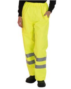 Spodnie odblaskowe Fluo Yellow, Yoko