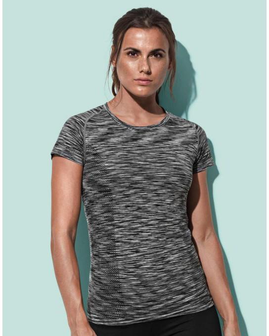 Damski T-Shirt Active Seamless Raglan, Stedman