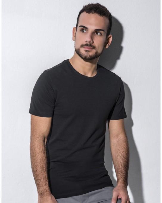 T-shirt Organic Stretch Eddie, nakedshirt