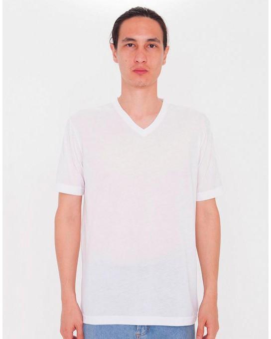 T-Shirt Unisex V-Neck do sublimacji, American Apparel