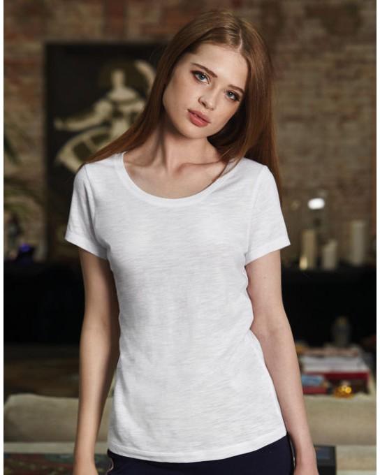 Damski Inspire Slub/women T-Shirt, B & C