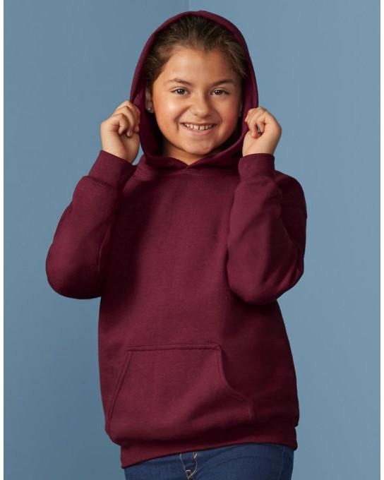 Bluza dziecięca z kapturem, Gildan