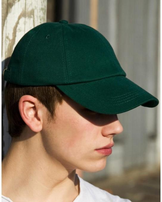 Niska czapka Brushed-Cotton