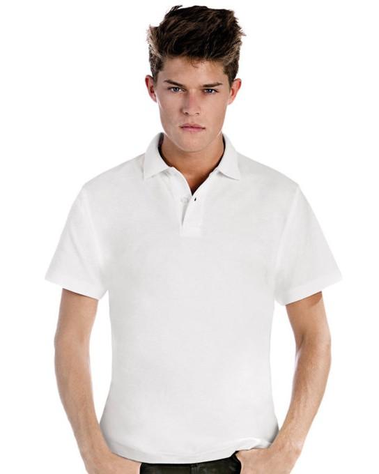 ID.001 Piqué Polo Shirt, B & C