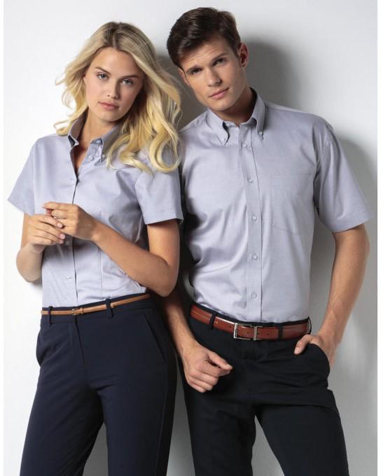 Koszula Oxford Corporate z krótkimi rękawami, Kustom Kit